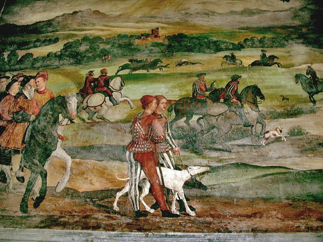 Malpaga- Girolamo Romani- vadászat 1467