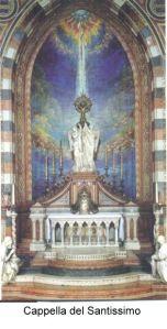 Padova, Basilica - Cappella del Santissimo