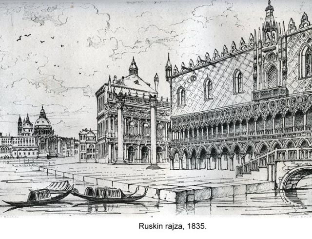 Ruskin rajza 1835