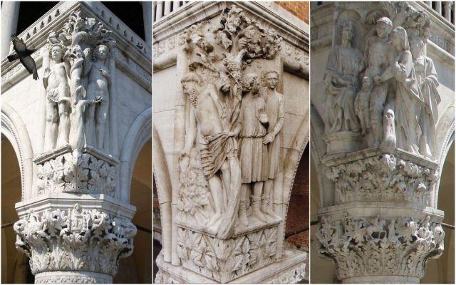 sarok szobrok