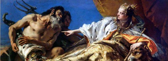 Tiziano, Velence és a tenger