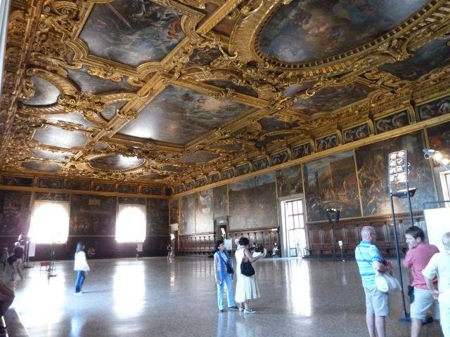 2014 nyár P1460936 Velence Sala del Maggior Consiglio