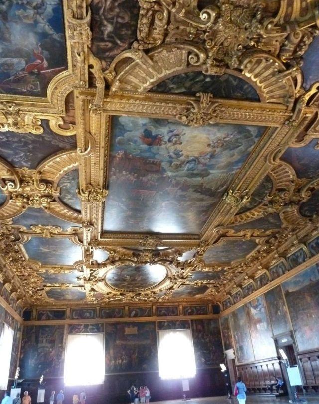 2014 nyár P1460941 Velence Sala del Maggior Consiglio