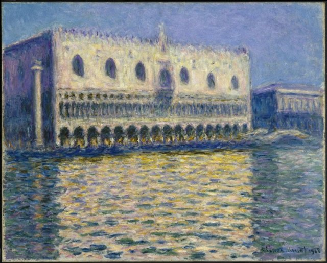 Claude_Monet, Brooklyn_Museum_-_The_Doge's_Palace_(Le_Palais_ducal)_-__-_overall