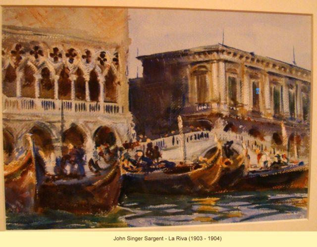 John Singer Sargent, La Riva 1903-1904