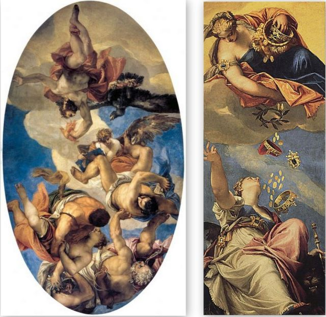 Napoleon elhurcolta Veronese festmények