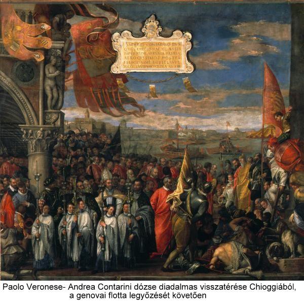 Ritorno_vittorioso_da_Chioggia_del_doge_Andrea_Contarini - Paolo Veronese