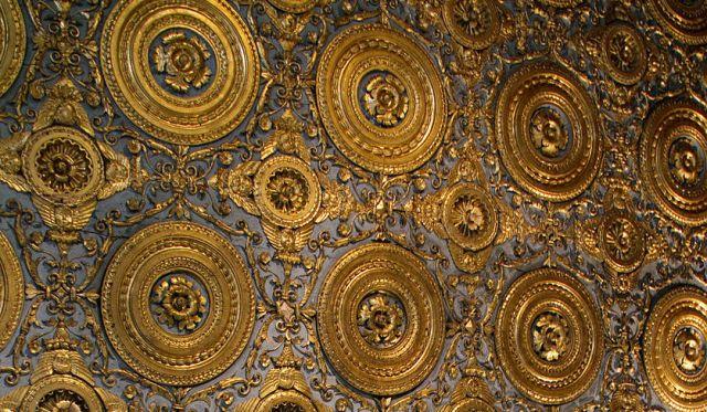 Sala Erizzo, plafon részlet