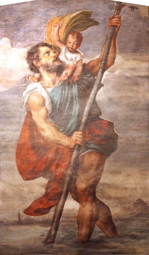 Titian_-_Saint_Christophe