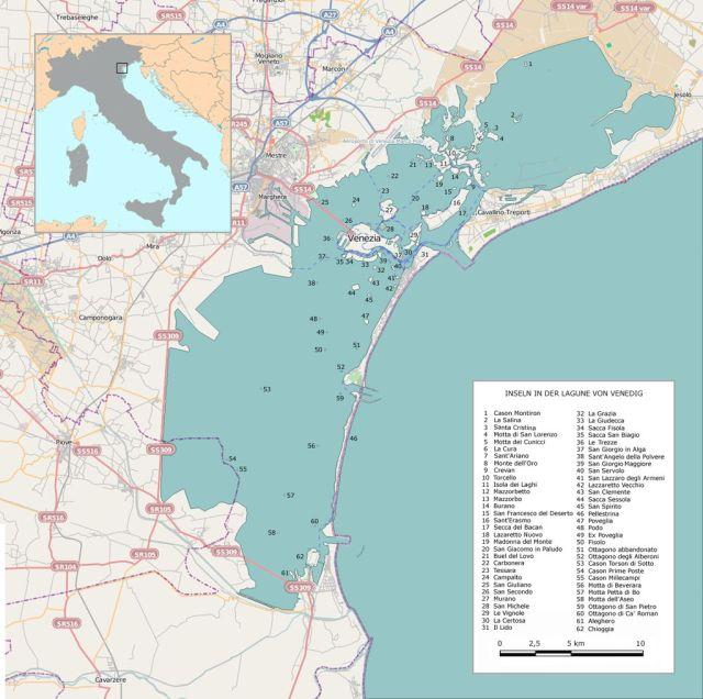 Venedig-lagune