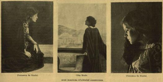 Eleonora Duse különböző szerepekben VU 1904 205