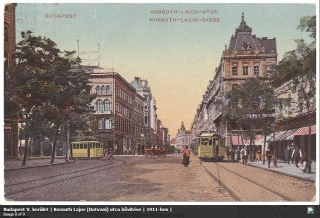 Kossuth L. u - Astoria kereszteződés; egykor.hu
