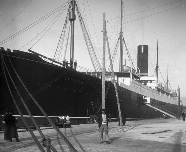 27281- Fiume, Carpathia hajó