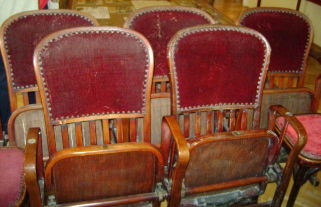 Bajor Gizi Színészmúzeum 044 - zsöllye széksorai
