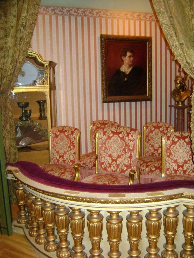 Bajor Gizi Színészmúzeum 048 - Nemzeti - Királyi páholy