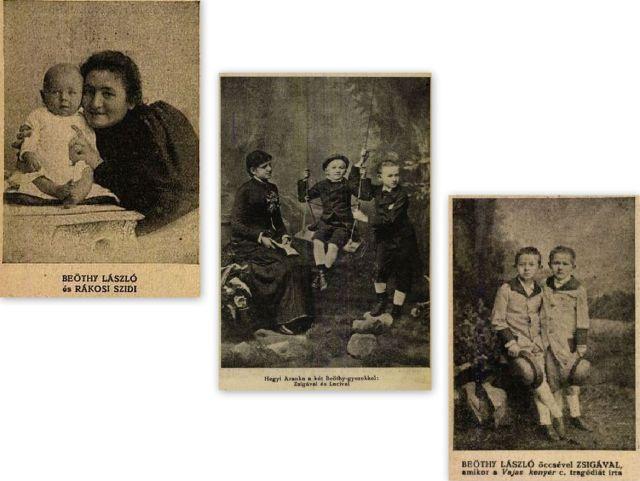 Beöthy László gyerekkori képek