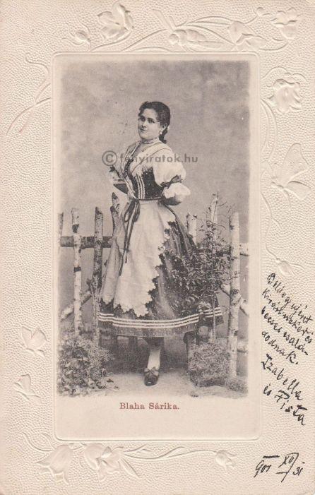 blahasári 1901 ,forrás- fényiratok