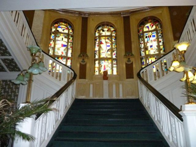 Fészek klub, lépcsőház P1510734 Ruttkay Éva