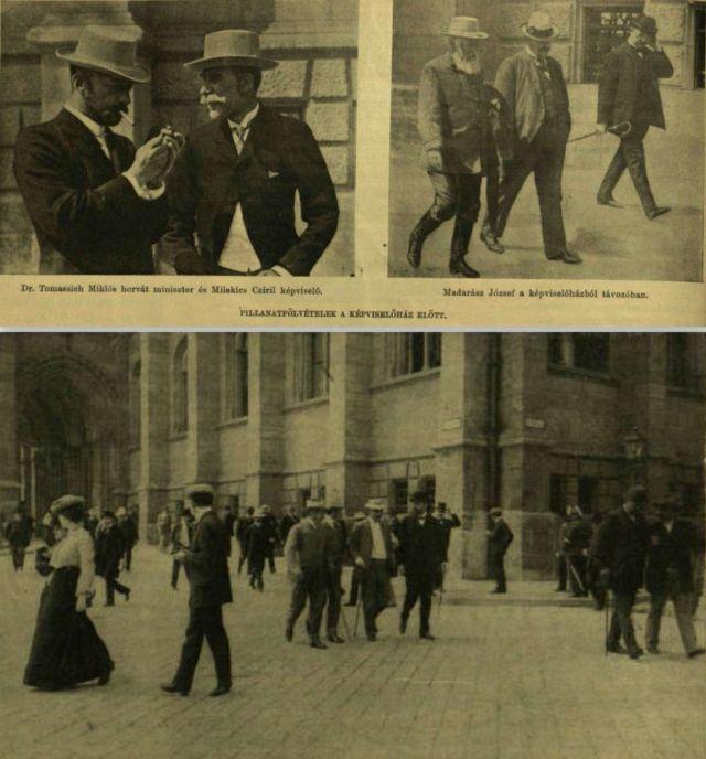 Országház előtt, koll 1