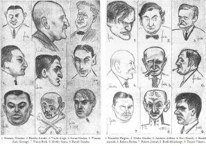 otthon_kör_karikatúrák_1917_2 Forrás Forrás Színházi Élet