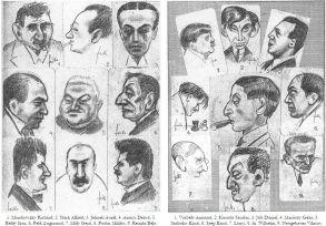 otthon_kör_karikatúrák_1917_3 Forrás Forrás Színházi Élet