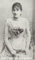 Rákosi-Szidi- ifjú színésznőként