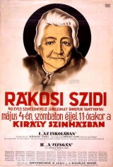 Rákosi Szidi_plakát_1929