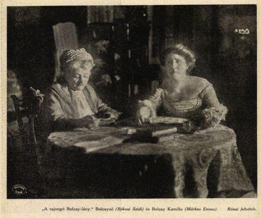 Rákosi Szidi és Márkus Emilia 1911. évi darabban