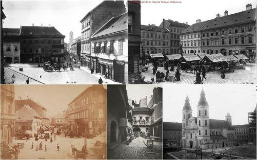 régi belváros kollázs