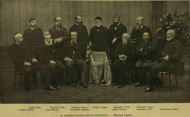 VU 1902 Erzsébet szobor bíráló bizottság 03
