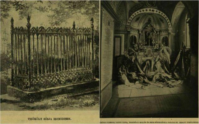 VU 1903 Törökországi magyar sírok kollázs