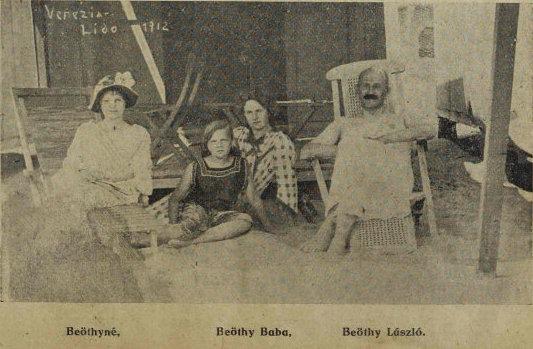 1912_Beöthy_család_a_Lidón_