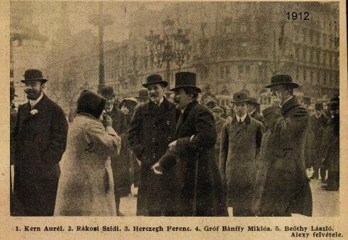 1912_ápr._csoportkép_Beöthyvel