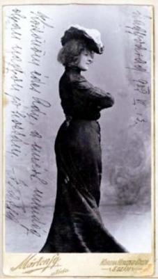 Fedak dedikál Adynak, 1909 Nagyvárad