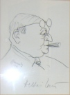 Heltai karikatúra - Bajor Gizi Színészmúzeum 030