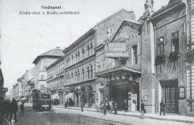 kiralyutca, Király színház