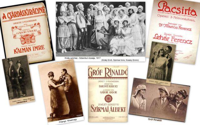 1917-1918 műsoron a Király színházban