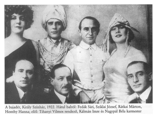 Kálmán bajader 1922