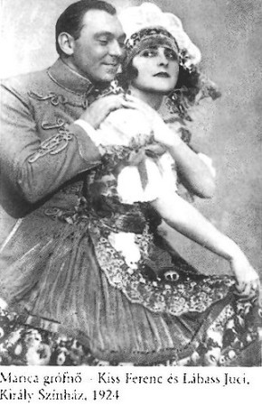 Kálmán I- Harsányi Zs Marica grófnő 1924