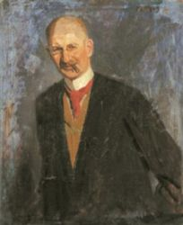 Fényes Adolf-Kohner Adolf portréja, 1908k. MNG