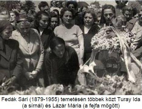 Fedák temetése 1955