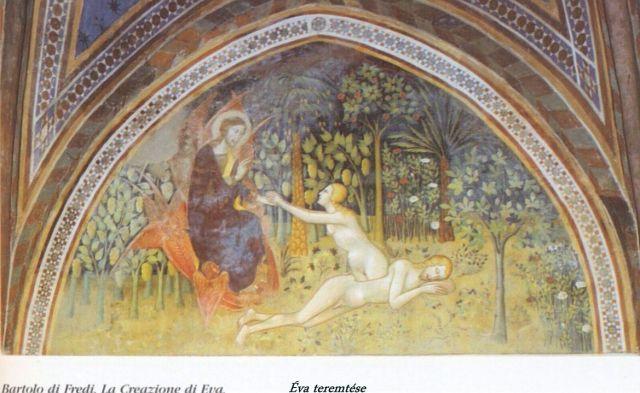 Collegiata - ótestamentumi történetek 1. Éva teremtése