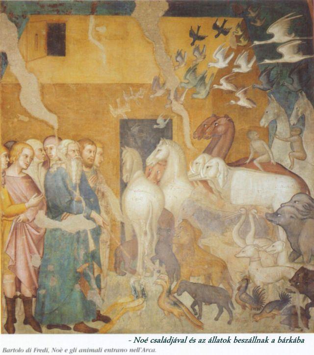 Collegiata - ótestamentumi történetek 4, Noé és az állatok a bárkába szállnak 2