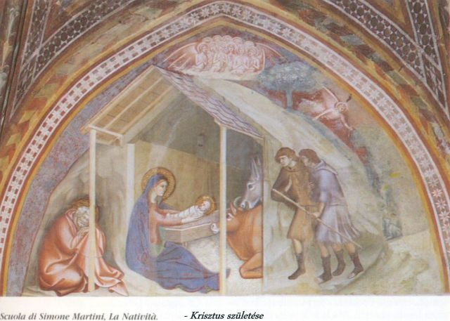 Collegiata - újtestamentumi történetek 1- Jézus születése