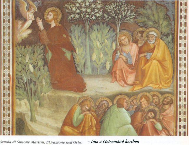 Collegiata - újtestamentumi történetek 6 - Ima a Getsemáné kertben
