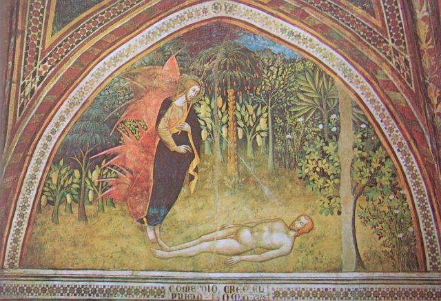 San Giminagno_Creation_of_Adam-OT_102_Bartolo_di_Fredi_