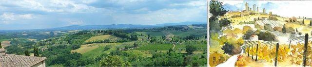 San Giminignano banner