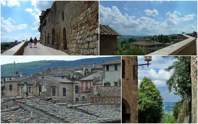 San Gimignano, várfal