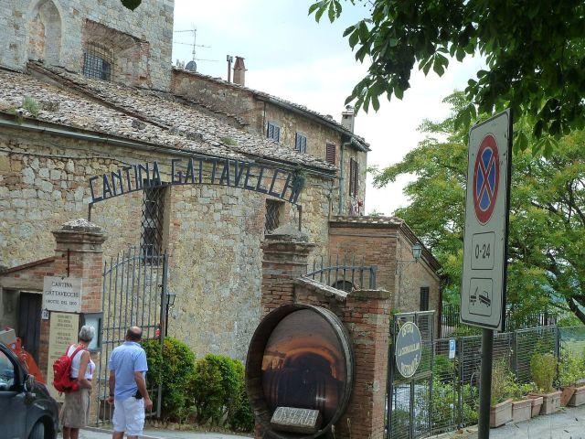 2014 nyár P1470413 Montepulciano, Cantina Gattavecchi