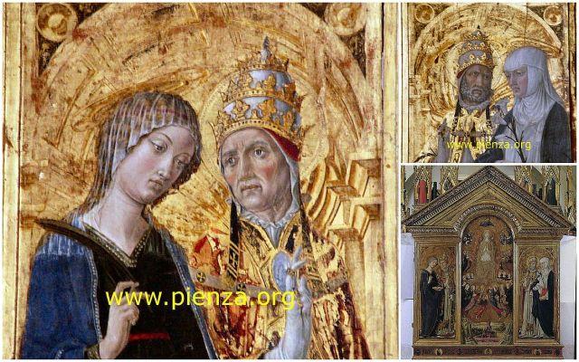 Assunzione della Vergine, Lorenzo Pietro - Vecchietta